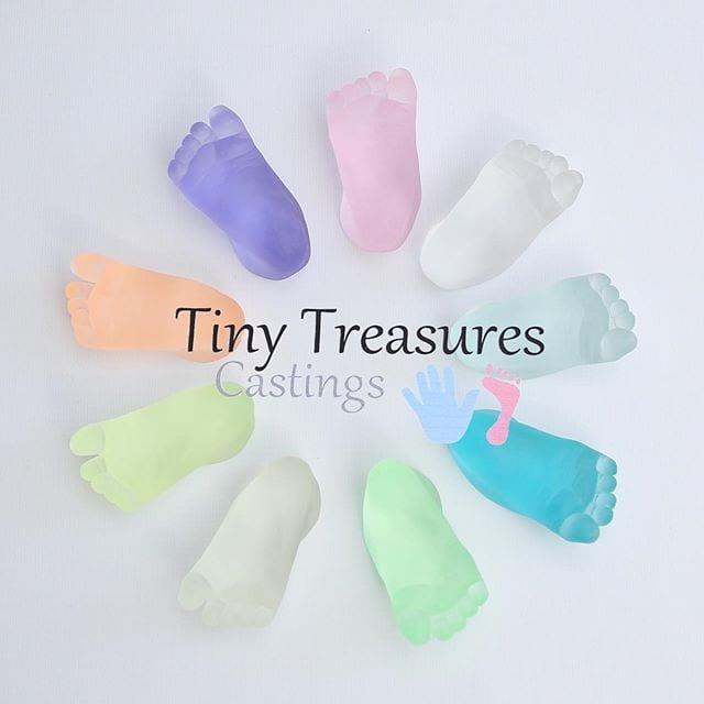 Tiny Treasures - Castings - Rainbow Feet